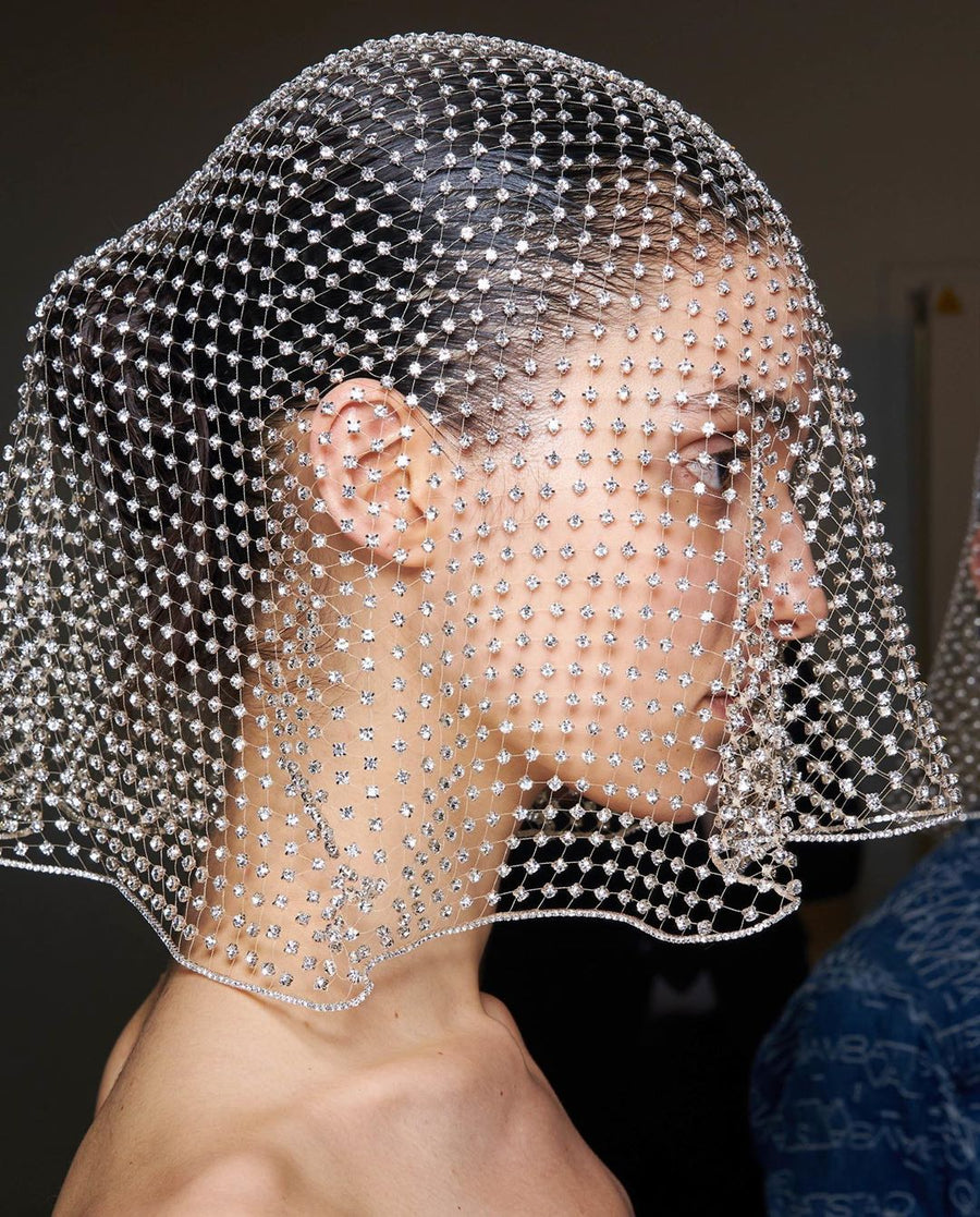 Diamond Bridal Veil