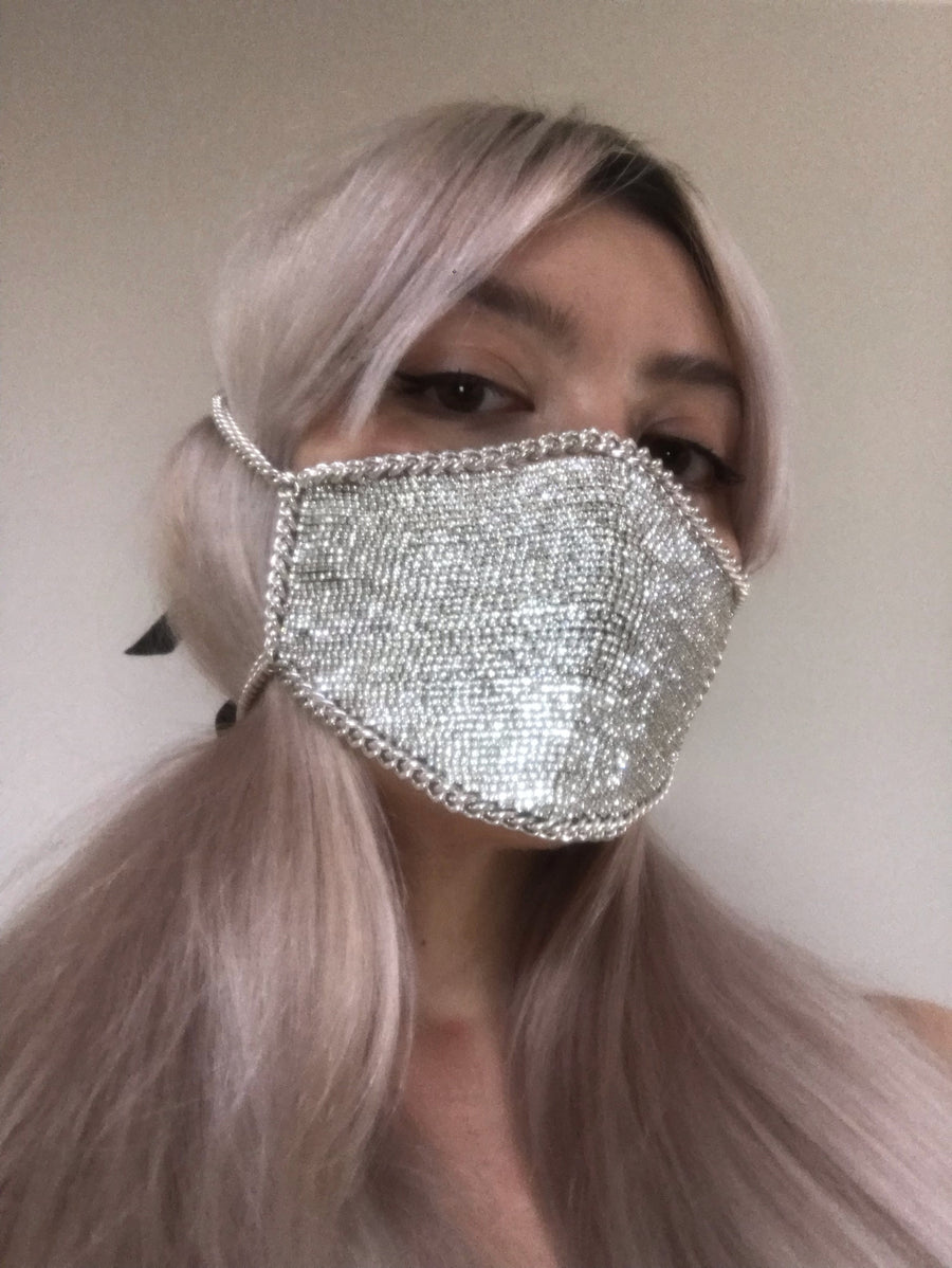 LIMITED EDTITION Full Crystal Mouth Mask