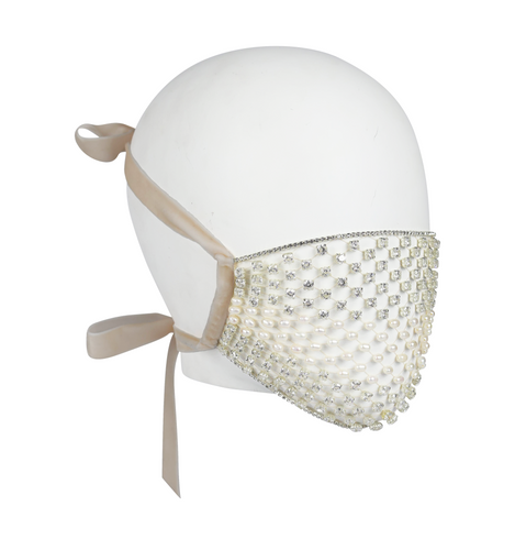 Diamond Pearl Mouth Mask