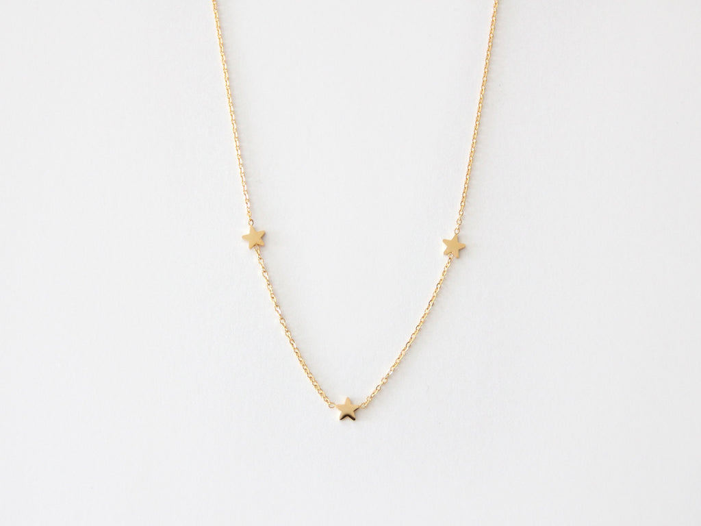 MAIVE - TRIPLE STAR NECKLACE