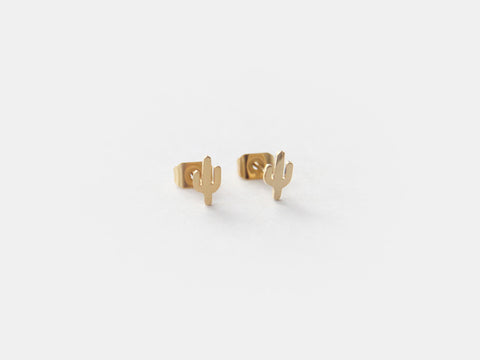 MAIVE - CACTUS STUD EARRINGS