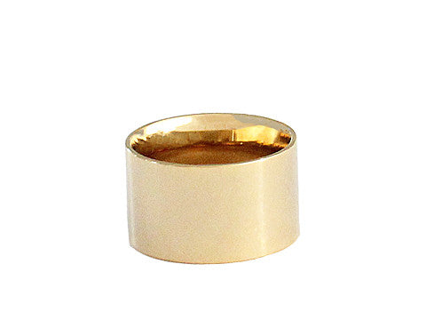 THICK CIGAR BAND RING