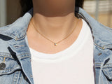 MAIVE - BEZEL STONE NECKLACE