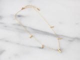 SALE - MAIVE - FIVE BAR NECKLACE