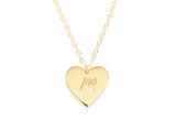 KEEP IT 100 HEART NECKLACE