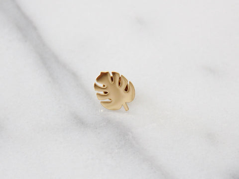 SALE - MAIVE - TROPICAL LEAF PIN