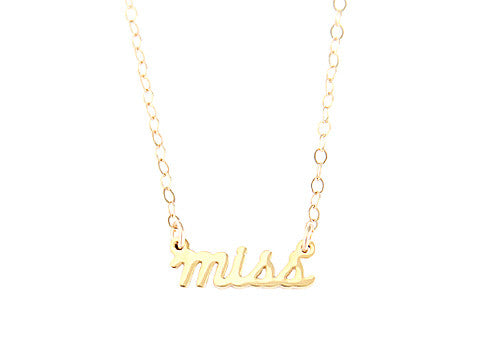 MISS NECKLACE