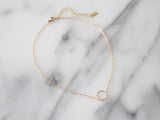SALE - MAIVE - OPEN CIRCLE CHOKER