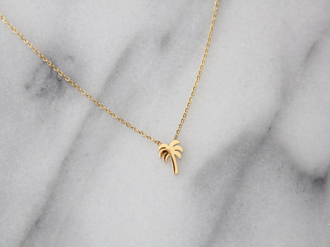 MAIVE - PALM TREE NECKLACE