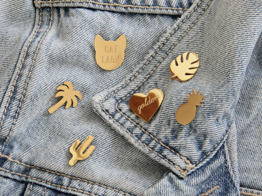 SALE - MAIVE - PINEAPPLE PIN