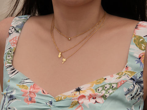 MAIVE - PINEAPPLE NECKLACE
