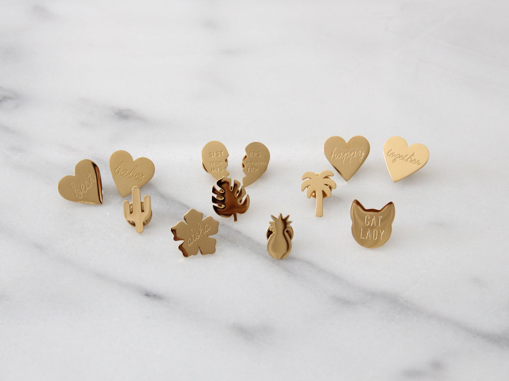 SALE - MAIVE - HAPPY TOGETHER PIN SET