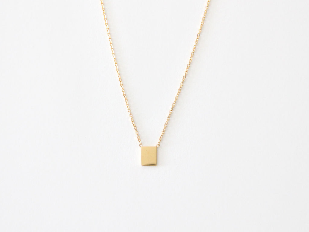 SALE - MAIVE - RECTANGLE NECKLACE