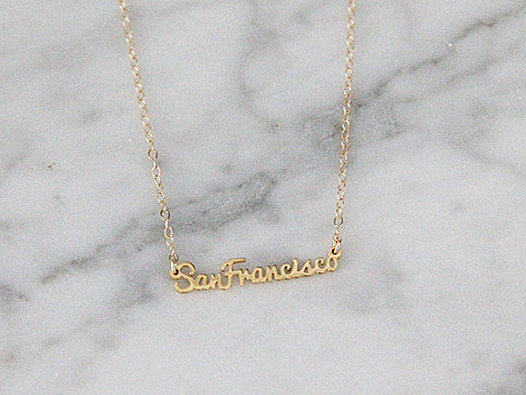SAN FRANCISCO NECKLACE