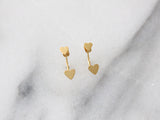 SALE - MAIVE - SINGLE HEART EAR JACKETS