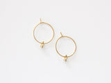 MAIVE - STAR HOOP EARRINGS