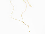MAIVE - TRIPLE STAR LARIAT NECKLACE