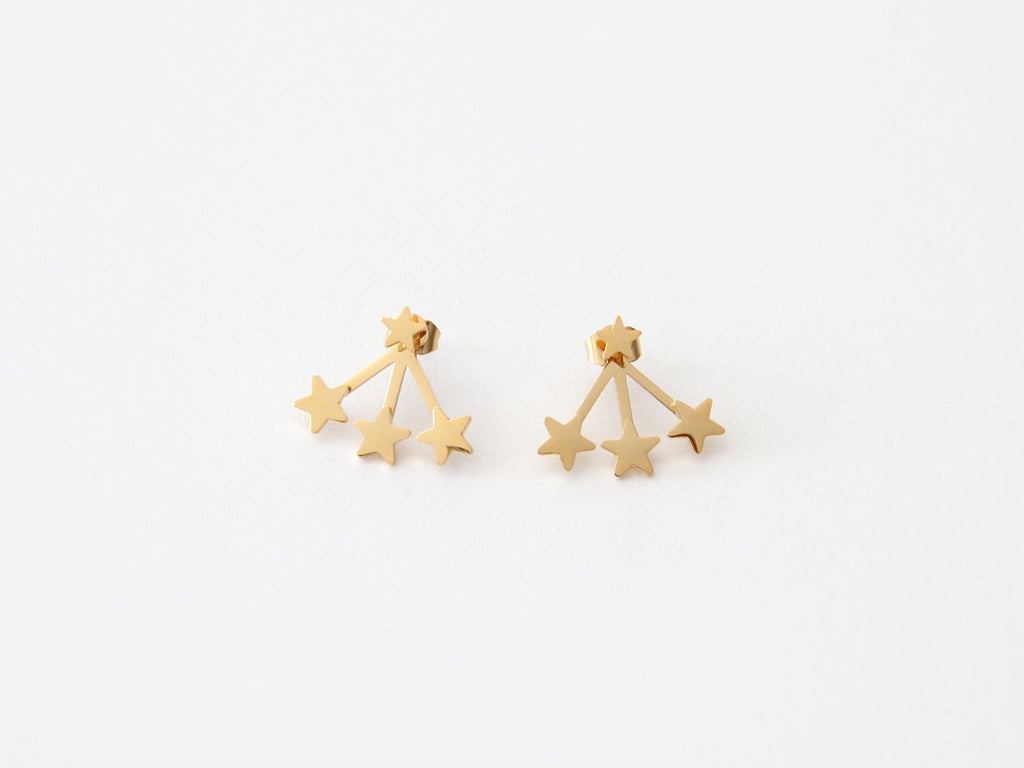 SALE - MAIVE - TRIPLE STAR EAR JACKETS