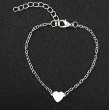 Load image into Gallery viewer, Heart Charm Bracelet