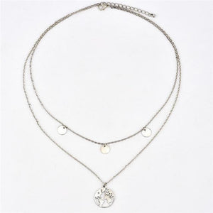 Fashion Earth Choker Necklace