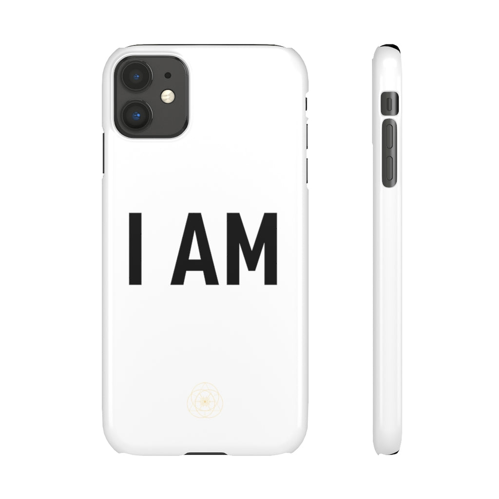 I AM iPhone & Samsung Snap Cases