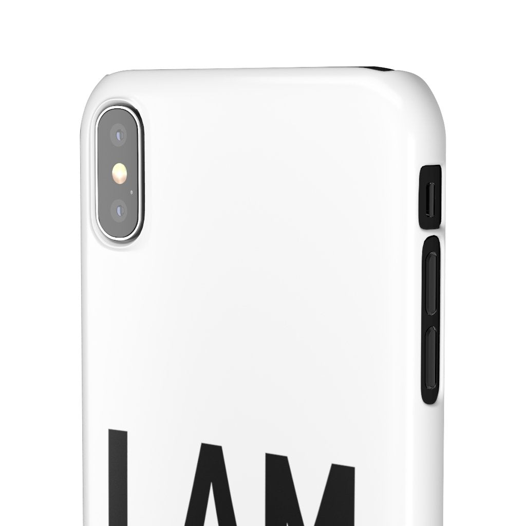 I AM iPhone & Samsung Snap Cases - Reality Hacker Co.