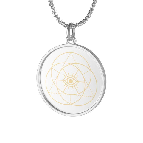 INFINITY EYE Single Loop Necklace - Reality Hacker Co.