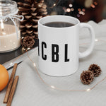 Invincible Winter—INVNCBL Mug - Reality Hacker Co.