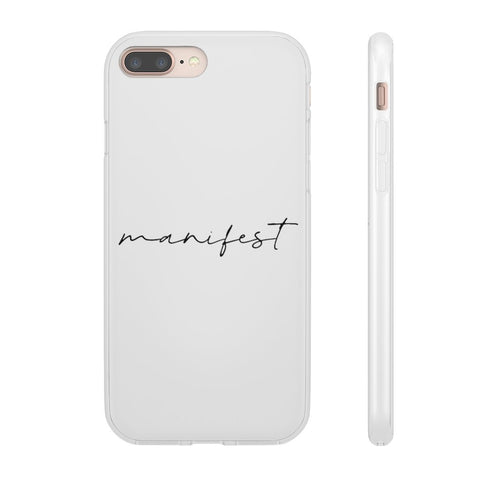 MANIFEST iPhone & Samsung Flexi Cases - Reality Hacker Co.