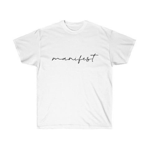 MANIFEST Unisex Ultra Cotton Tee - Reality Hacker Co.