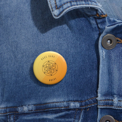 RHOS Rank: Adept – Collectible Button Pin - Reality Hacker Co.