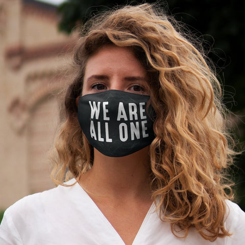 We Are All One Snug-Fit Polyester Face Mask - Reality Hacker Co.