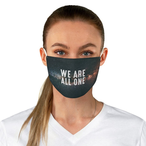 We Are All One - Stars - Fabric Face Mask - Reality Hacker Co.