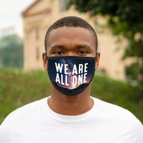 We Are All One - Universe - Mixed-Fabric Face Mask - Reality Hacker Co.