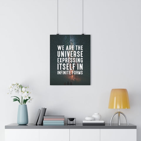WE ARE THE UNIVERSE (STARS) Giclée Art Print - Reality Hacker Co.