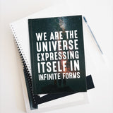 WE ARE THE UNIVERSE (STARS) Journal - Ruled Line - Reality Hacker Co.