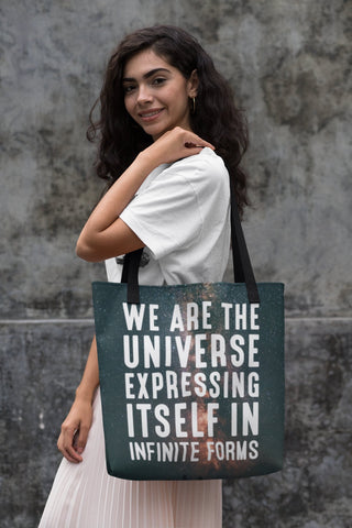 WE ARE THE UNIVERSE (STARS) Tote Bag - Reality Hacker Co.