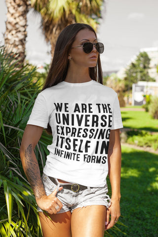 WE ARE THE UNIVERSE Unisex Jersey Short Sleeve Tee - Reality Hacker Co.