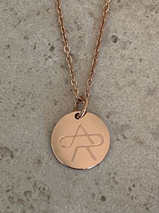 Anna Rewick Signature Coin Necklace