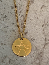 Load image into Gallery viewer, Anna Rewick Signature Coin Necklace