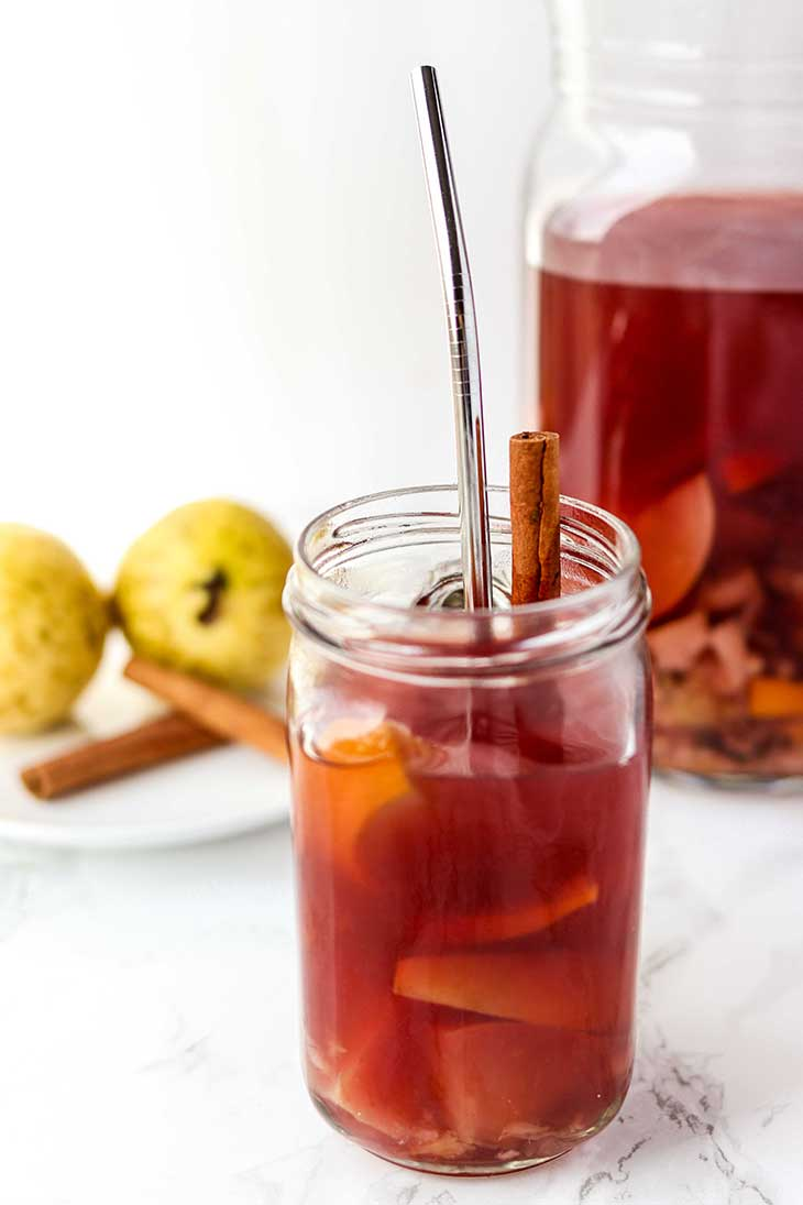 Holiday Punch with White Guava