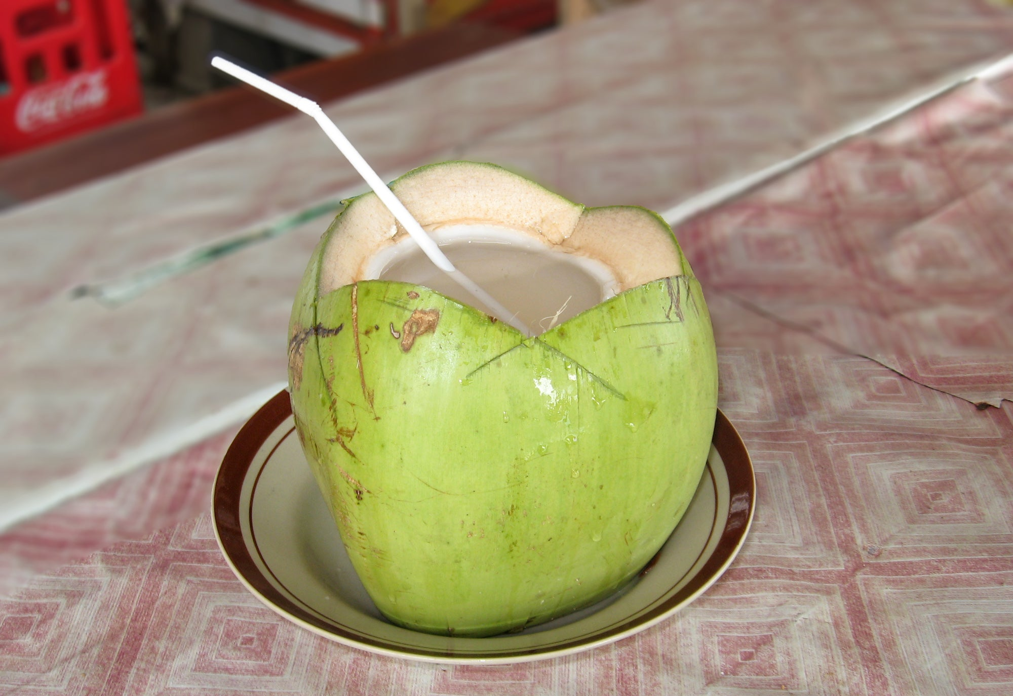 Mangosteen Coconut Cooler