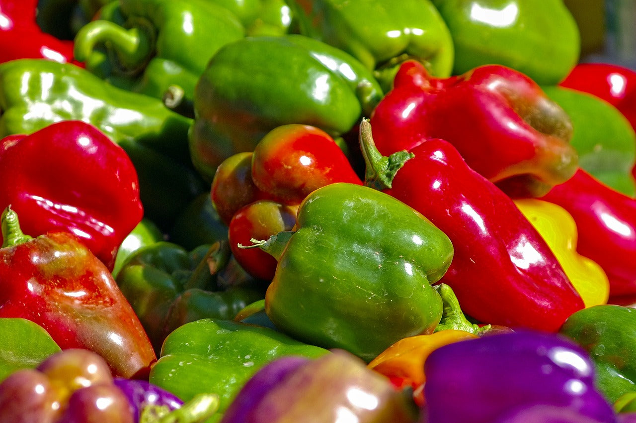 Different Types of Peppers