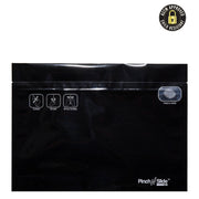 "Pinch N Slide 2.0 Child Resistant Mylar Bags 12"" x 9"" - Black - 250 Count"