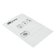 "Pinch N Slide 2.0 Child Resistant Mylar Bags White 3.4"" x 3.7"" 250 Count"