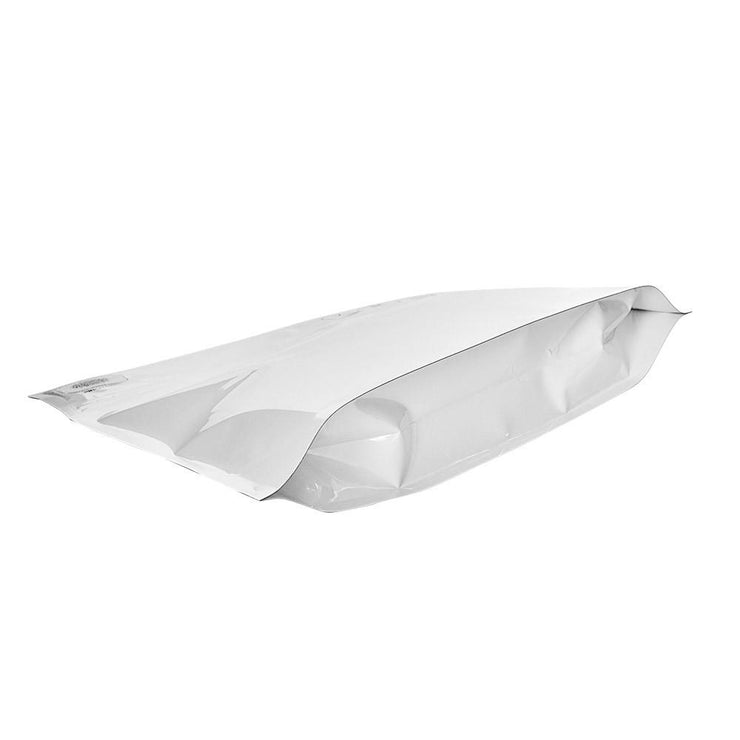 "Pinch N Slide Child Resistant Mylar Bag White 12"" x 9""  250 Count"