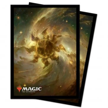 ULTRA PRO: MAGIC THE GATHERING DECK PROTECTOR - CELESTIAL LANDS - PLAINS (100) | Darkhold Games