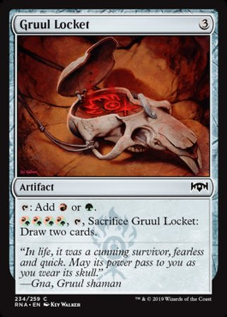 Gruul Locket [Ravnica Allegiance] | Darkhold Games