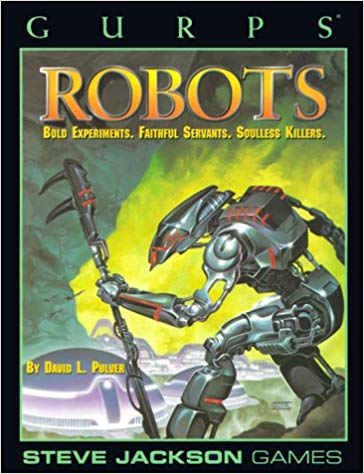 GURPS Robots - Used | Darkhold Games