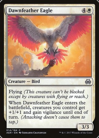 Dawnfeather Eagle [Aether Revolt] | Darkhold Games